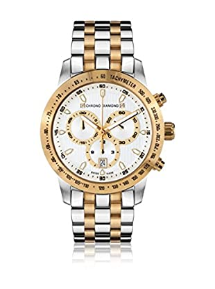Chrono Diamond Reloj con movimiento cuarzo suizo Woman 10310A Leandra 43 mm