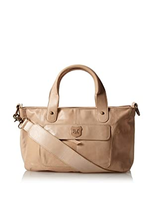 Andrew Marc Women's Argentina Satchel (Taupe)