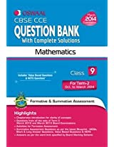 Oswaal CBSE CCE Question Bank with Complete Solutions: Mathematics for Class 9 Term II