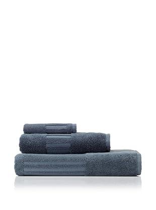 Garnier-Thiebaut 3-Piece Bath Towel Set (Blue Acier)