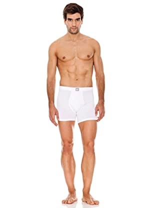 Abanderado Boxer Tango Liso Pack2 (Blanco)