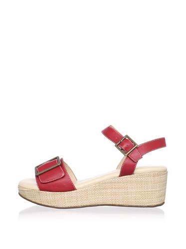 Cordani Women's Curtis Platform Sandal (Red)