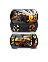 Z33 Light Design Decal Skin Sticker For The Sony Psp Go