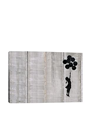 Banksy Flying Balloons Girl Giclée On Canvas