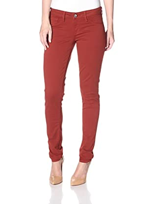 SOLD Design Lab Women's Spring Street Skinny Jean (Red Umber)