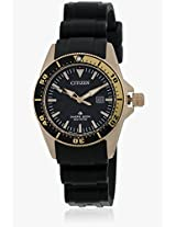 Eco-Drive Ep6044-01E Black/Black Analog Watch CITIZEN