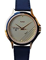 HMT Yellow Dial Analogue Watch for Men (TEJUS)