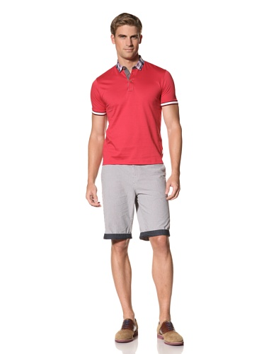 Ted Baker Men's Beehive Polo (Red)