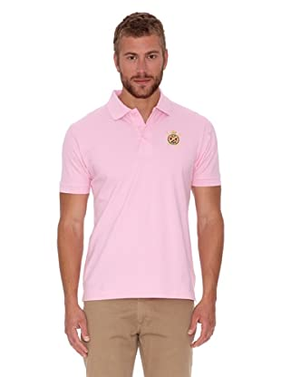 Polo Club Polo Custom Fit Básico (Rosa)