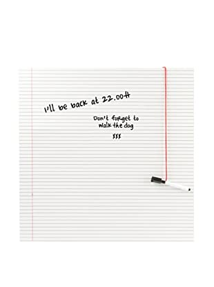 Present Time Notebook Paper Write Board & Marker