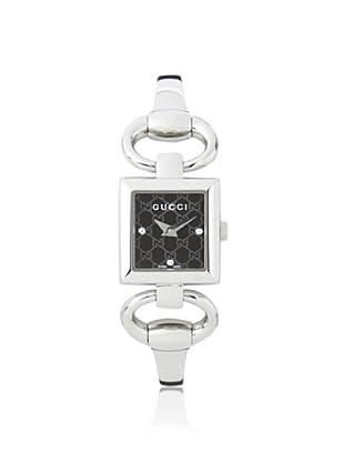 Gucci Women's YA120516 Tornabuoni Black Stainless Steel Watch