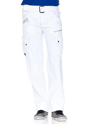 Gangster Unit Pantalón Panamera (Blanco)