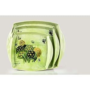 Casa De Regalos Floral Delight Green