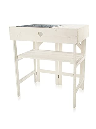 Esschert Design Potting Table (Off White)