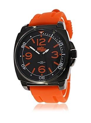 Pit Lane Uhr mit Miyota Uhrwerk Pl-2001-4 orange 42 mm