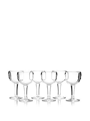 La Rochère Set of 6 Ballon Décor 8-Oz. Water Goblets