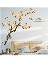 Wall Art Decor Removable Mural PVC Decal Sticker Cherry Blossom Branches 943AY