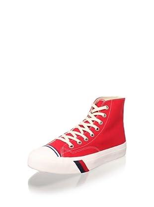 PRO-Keds Men's Royal Hi Sneaker (Red)