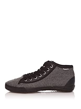 Shulong Zapatillas Shuwool High (Gris / Negro)