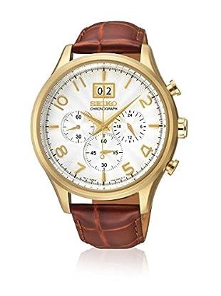 Seiko Reloj de cuarzo SPC088P1 Marrón 43  mm
