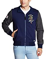 Ed Hardy Men's Polyurethane Leather Jacket