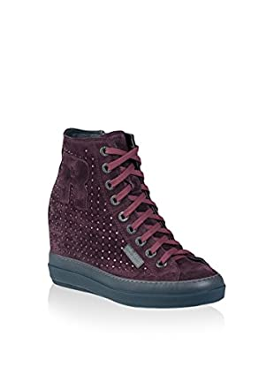 Ruco Line Sneaker Zeppa 4916 Strass Sonia