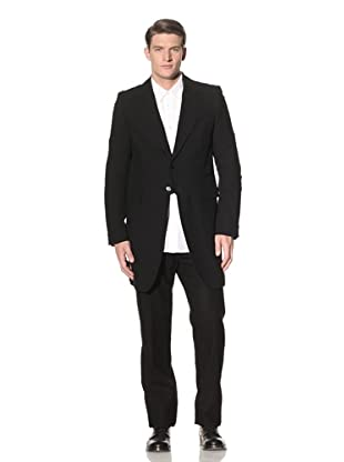 Ann Demeulemeester Men's Button Sleeve Coat