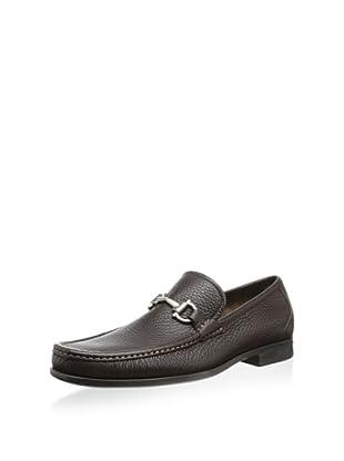 Salvatore Ferragamo Men's Magnifico Loafer (Hickory)