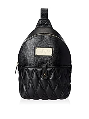 Valentino Bags by Mario Valentino Women's Claude D Quilted Sling, Black