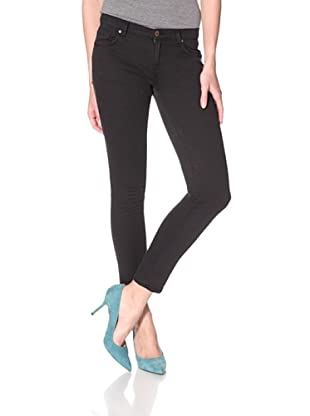 Rockstar Denim Women's Skinny Jean (Black)