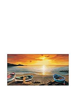 Artopweb Panel Decorativo Galasso Al Calar Del Sole 100x50 cm Multicolor