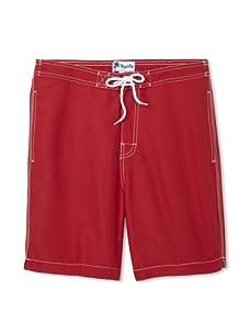 Trunks Men's Swami Shorts (Red)
