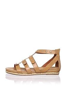 Pour La Victoire Women's Macia Sandal (Brown)