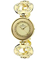 Aveiro Analog Gold Dial Women's Watch - AV82GM