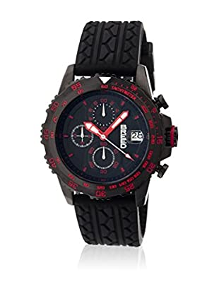 Breed Reloj con movimiento cuarzo japonés Brd6308 Negro 42  mm