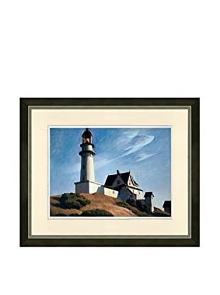 Edward Hopper: The Lighthouse at Two Lights