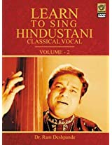Learn To Sing Hindustani Classical Vocal-Vol. 2