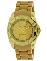 Anne Klein Gold-Tone Silicone Ladies Watch 10-1188Gptn - 10-1188Gptn