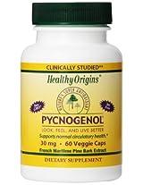 Healthy Origins Pycnogenol 30 mg 60 Veggie Capsules