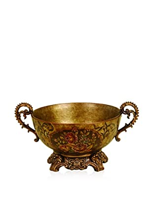 UMA Ceramic Floral Treasure Bowl
