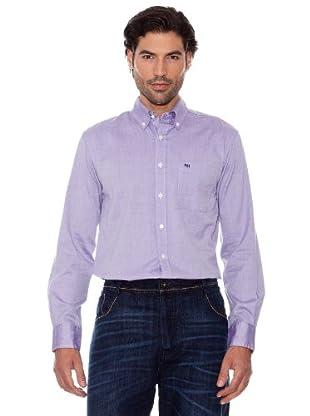 Pedro Del Hierro Camisa Oxford (Violeta)