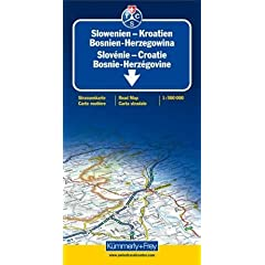 Slovenia / Croatia / Bosnia-Herzegovina: KF.085 (International Road Map)
