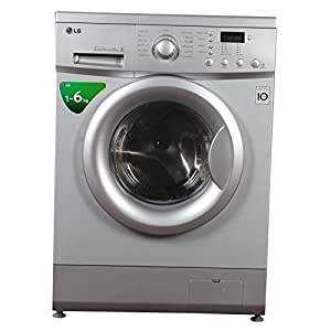 LG F10B5NDL25 Front-loading Washing Machine (6 Kg, Luxury Silver)
