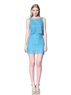 Rebecca Minkoff Women's Jemme Dress (Turquoise)