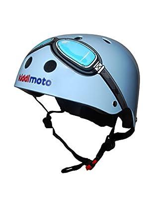 Kiddimoto Fahrradhelm Goggle Pilot