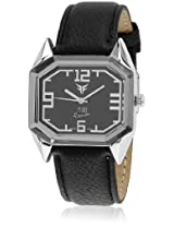 GL-009BLK Black/Black Analog Watch Figo