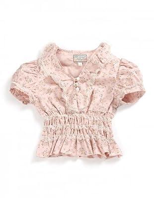 My Doll Bluse (Rosa/Grün)
