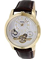 Fossil Grant Analog Silver Dial Men's Watch - ME1127