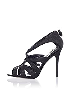 Badgley Mischka Platinum Women's Junebug Sandal (Black)