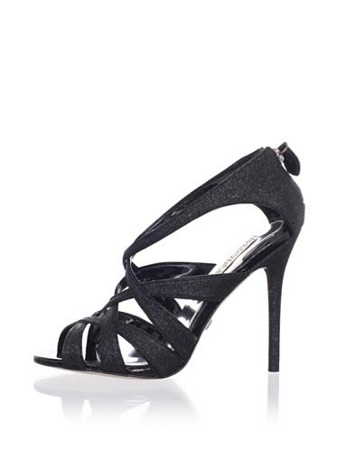 Badgley Mischka Platinum Women's Junebug Sandal (Black)